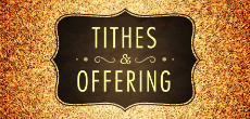 Declarations over Tithes and Offering