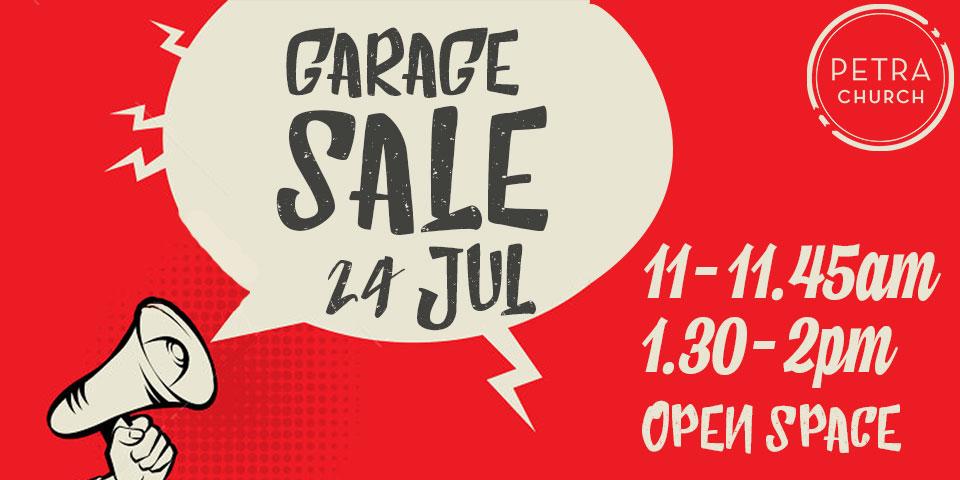 Garage Sale | Petra Church