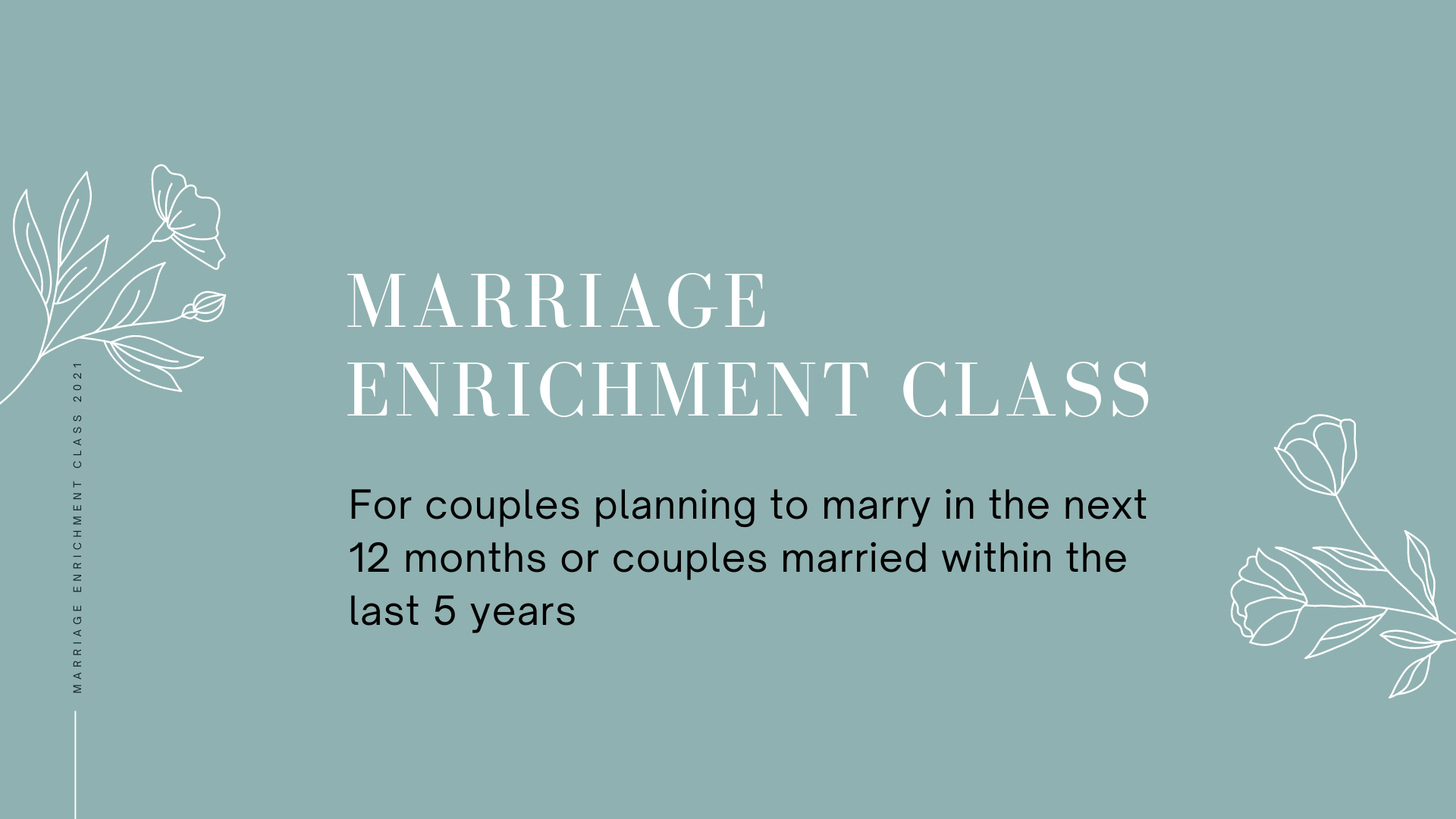 Marriage Enrichment Course 2021v2